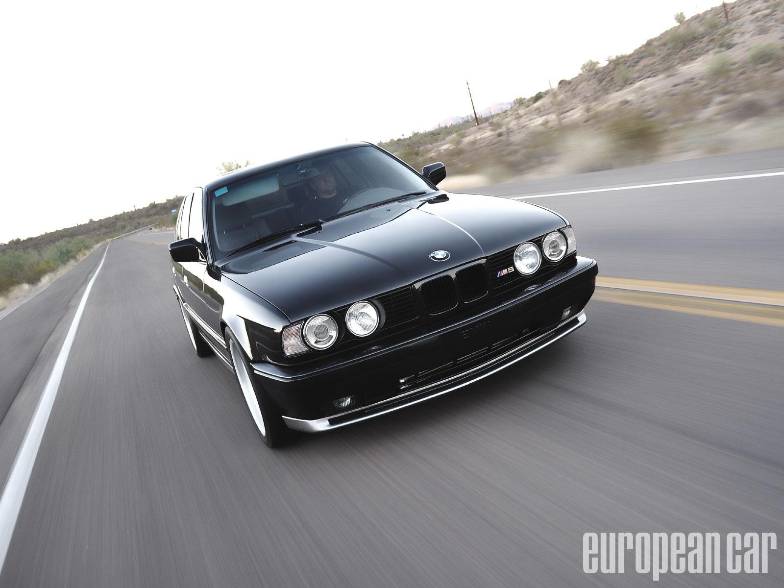 1991 BMW M5 - European Car Magazine