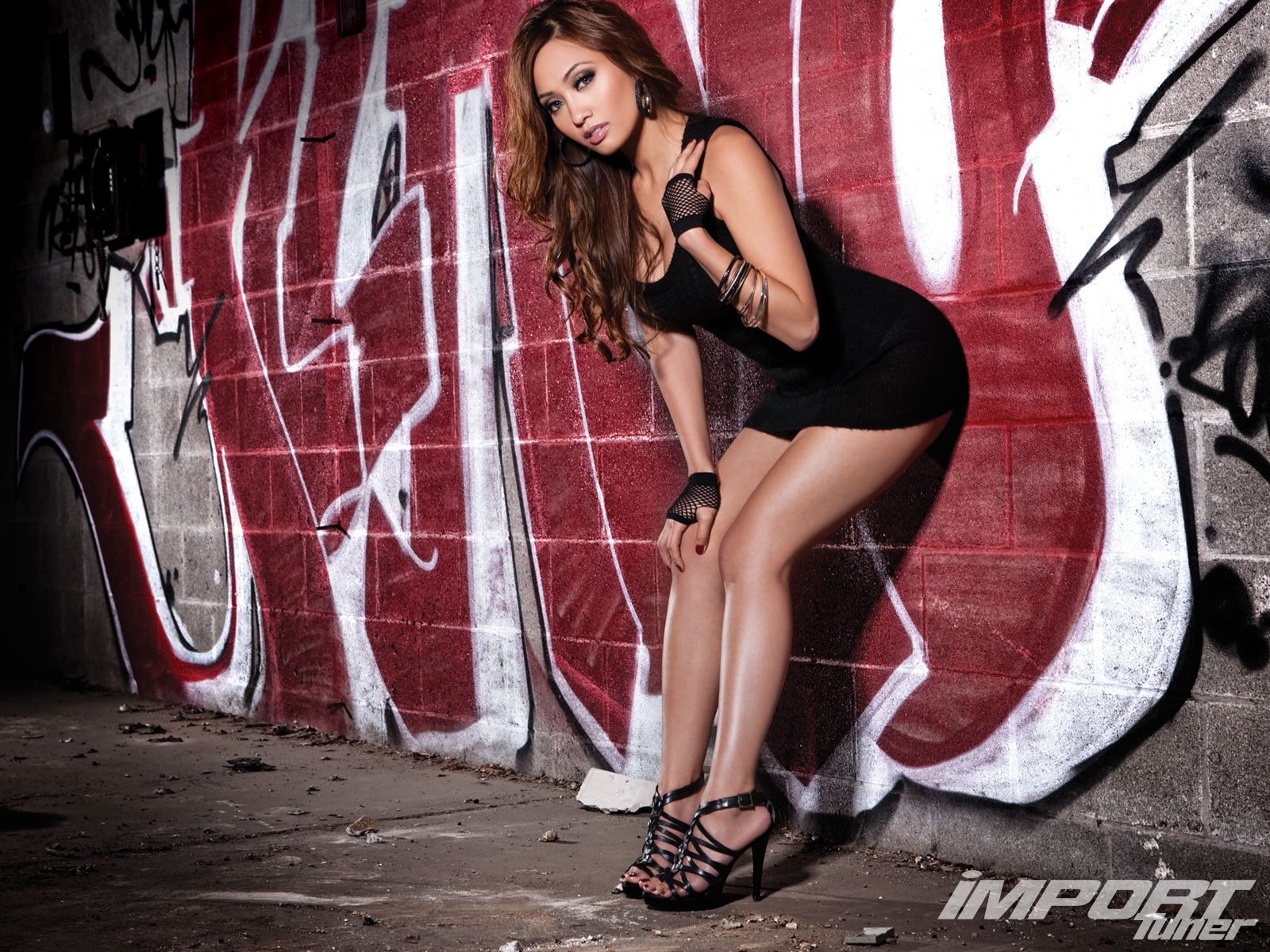Jennifer Lee Model Import Tuner Magazine