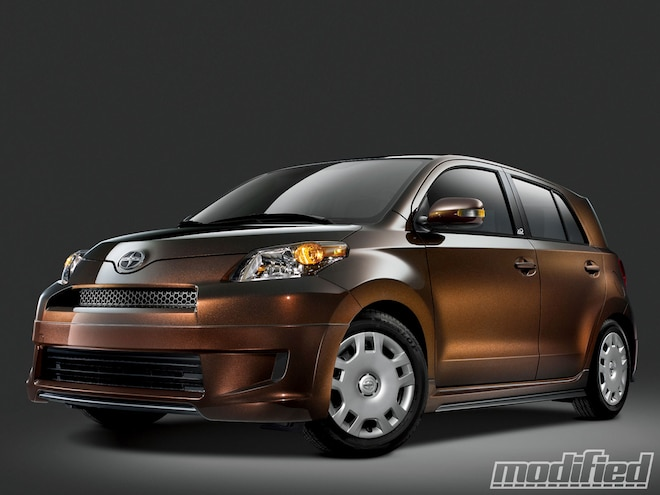 Limited Edition Scion xD  Release Series Drops - Spinout