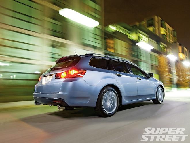 2011 Acura TSX Sport Wagon - New Car Joy Ride