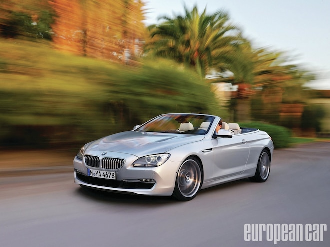 BMW 650i Convertible - The German Open