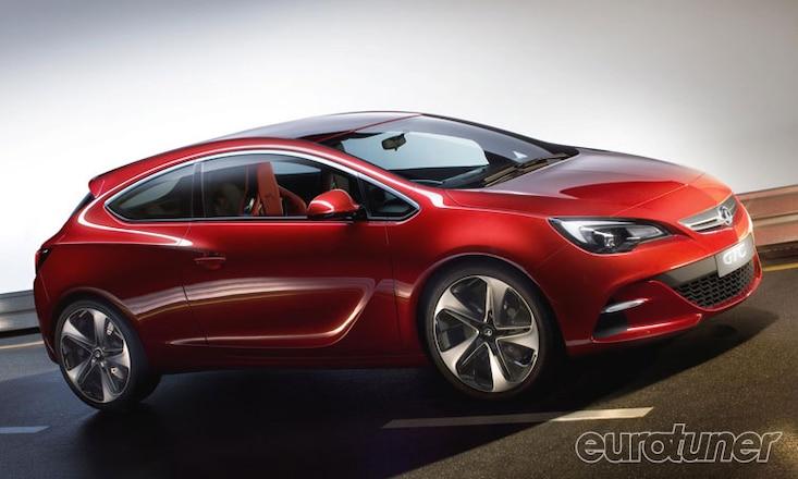 Vauxhall Open Astra GTC Paris Concept