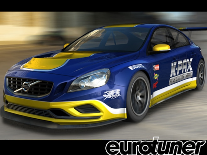Volvo S60 for K-PAX Racing in World Challenge GT - Web Exclusive