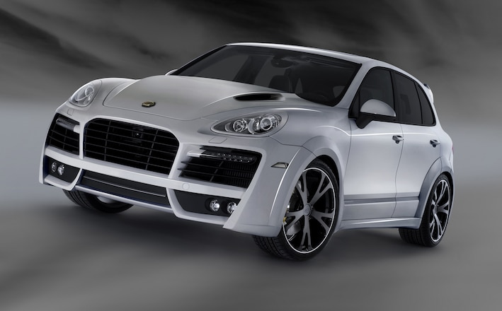 Techart Power Kit For The Porsche Cayenne Turbo - Web Exclusive