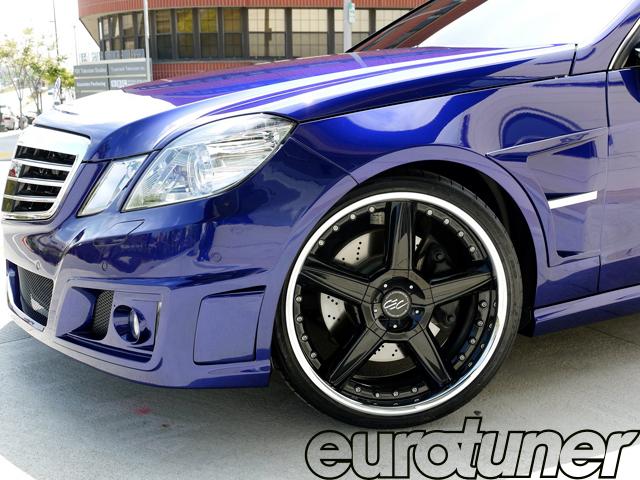 Mercedes-Benz E550 for Next Transformers Movie - Web