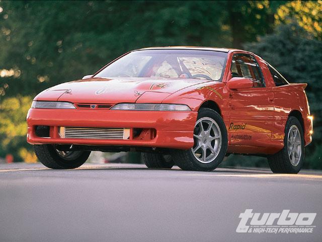 1991 Eagle Talon Tsi - Buschur Racing - Turbo & High-Tech