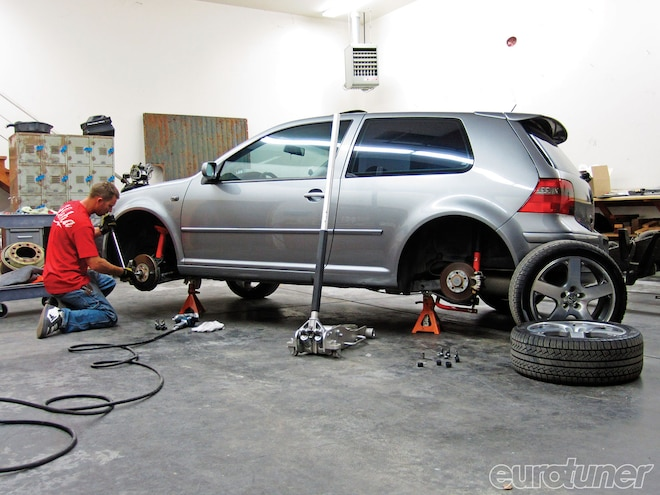 Volkswagen MK4 GTI 1.8T - Budget Suspension Upgrade - Part 1