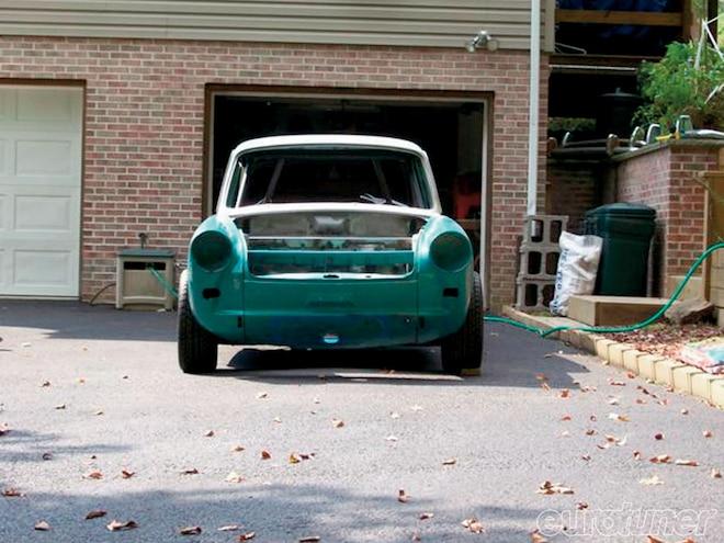 Notchback VR6, Baur Power and 034 Golf V6 - Garage Projects