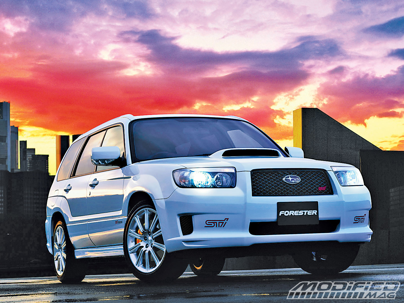 building your own subaru forester sti modified magazine super street