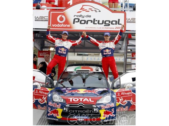 Citroen Wins WRC Portugal Rally - Web Exclusive
