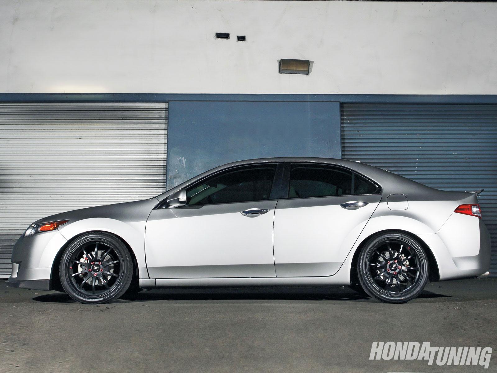 Acura TSX Project - Project TSX: FINAL - Honda Tuning Magazine