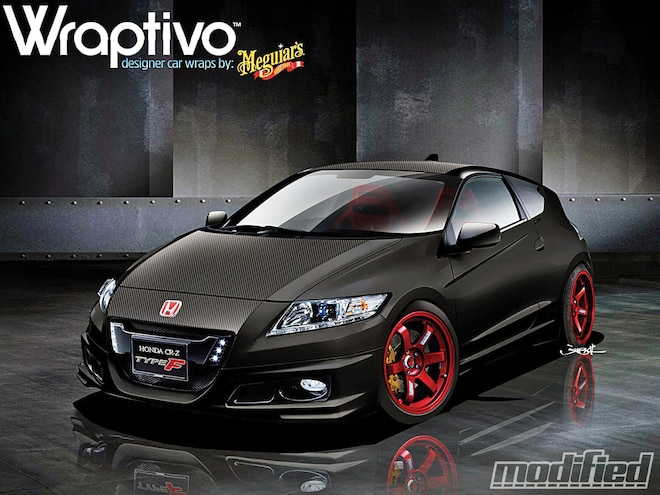 Honda CR-Z To Make SEMA Splash - Spinout - Modified Magazine