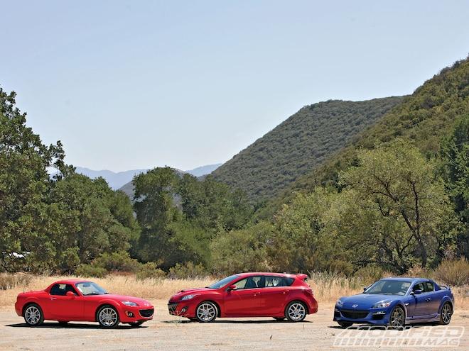 Mazda's '10 Sports Car Lineup - First Drive