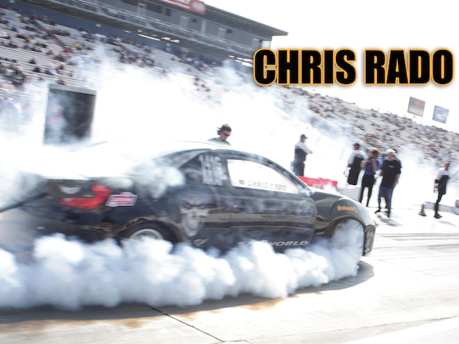 Chris Rado Breaks Records at Three Tracks During Super Lap Battle, NHRA Finals and Time Attack with Continental Tires