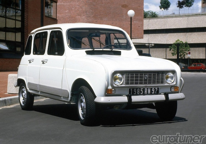 Renault 4 Celebrates 50th Anniversary - Web Exclusive