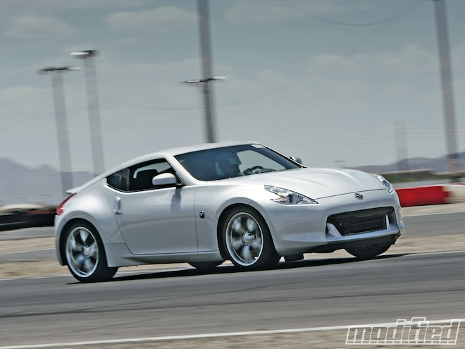 Nissan 370Z Track Testing