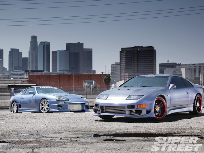 1992 Nissan 300ZX and 1995 Toyota Supra - Look At Us Now