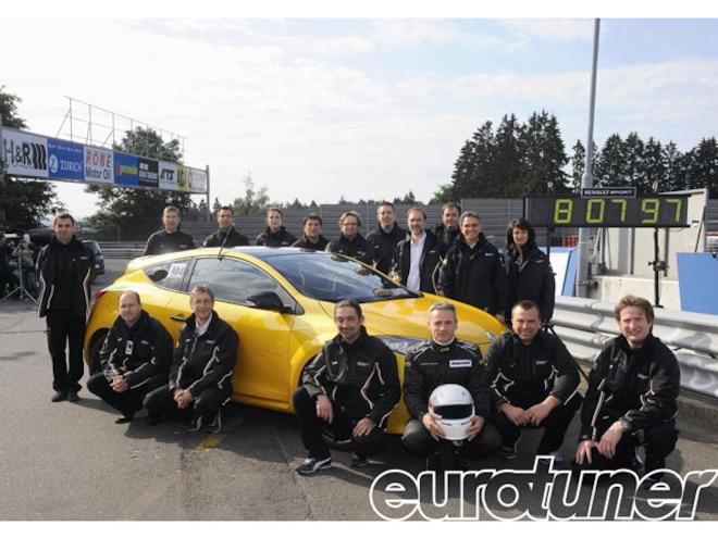 Megane Renaultsport 265 Trophy Sets 8'08