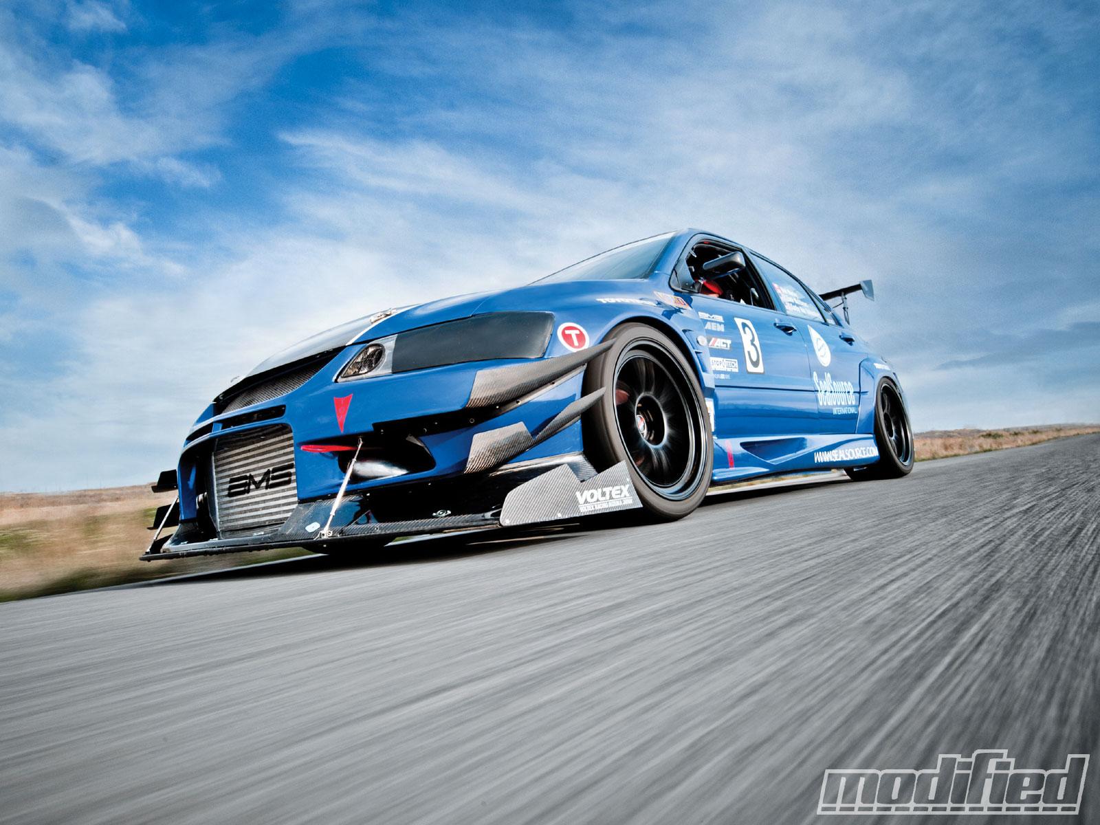 2003 Mitsubishi Evolution XIII - Garage-Built Monster Photo