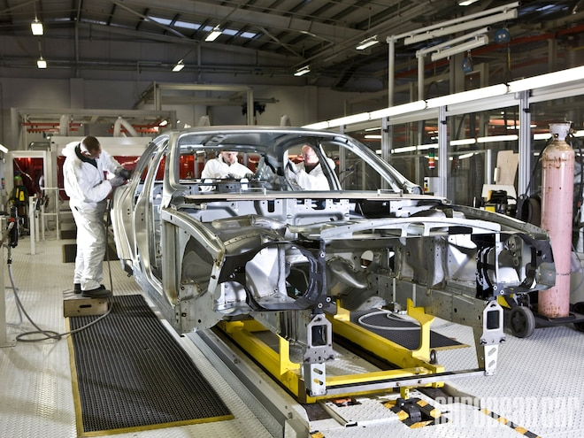 Bentley Mulsanne Body Assembly Center