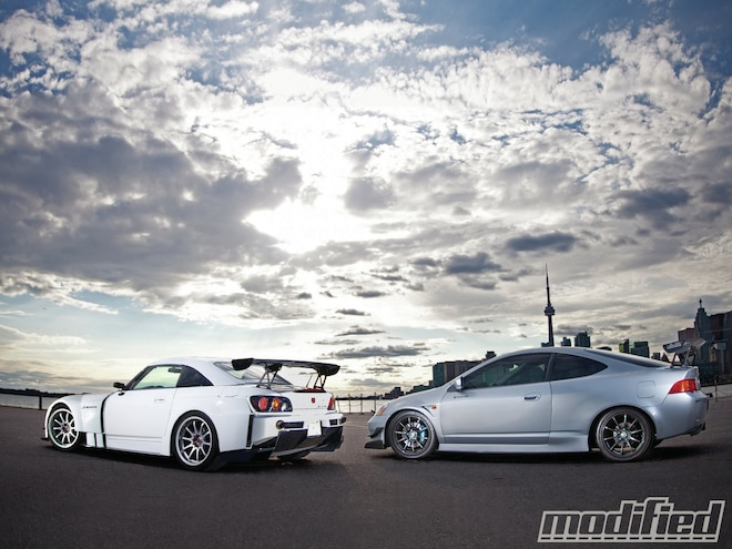 '03 Acura RSX Type-S and '06 Honda S2000 - All In The Family