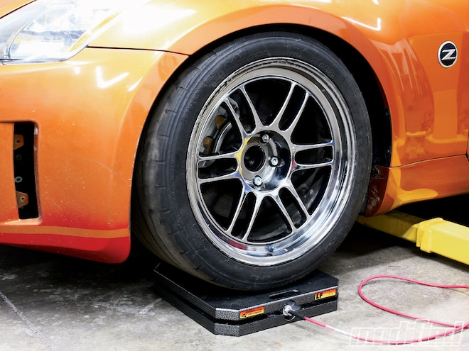 Wheel Alignment Specifications - Corner Balancing