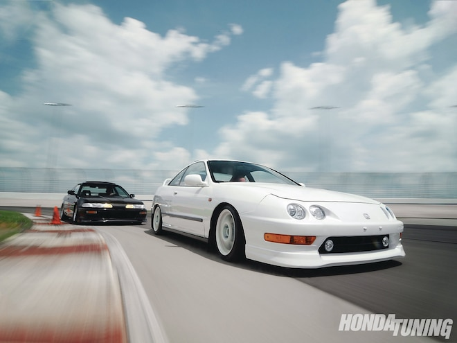 1993 Honda Integra And 1995 Honda Integra - Joint Venture