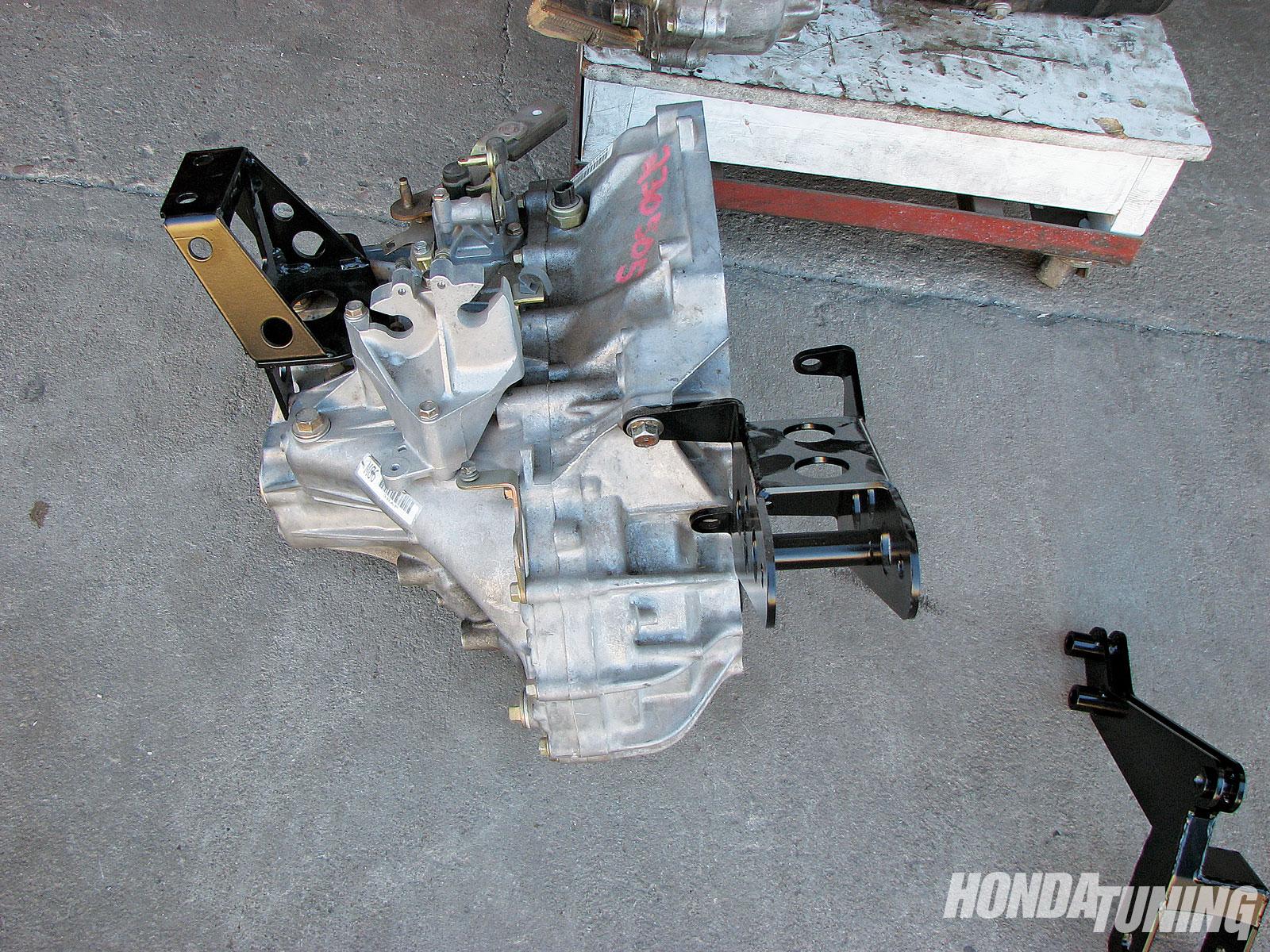 Acura RSX, Honda CRV Swap - K-Swap For Less - Honda Tuning Magazine