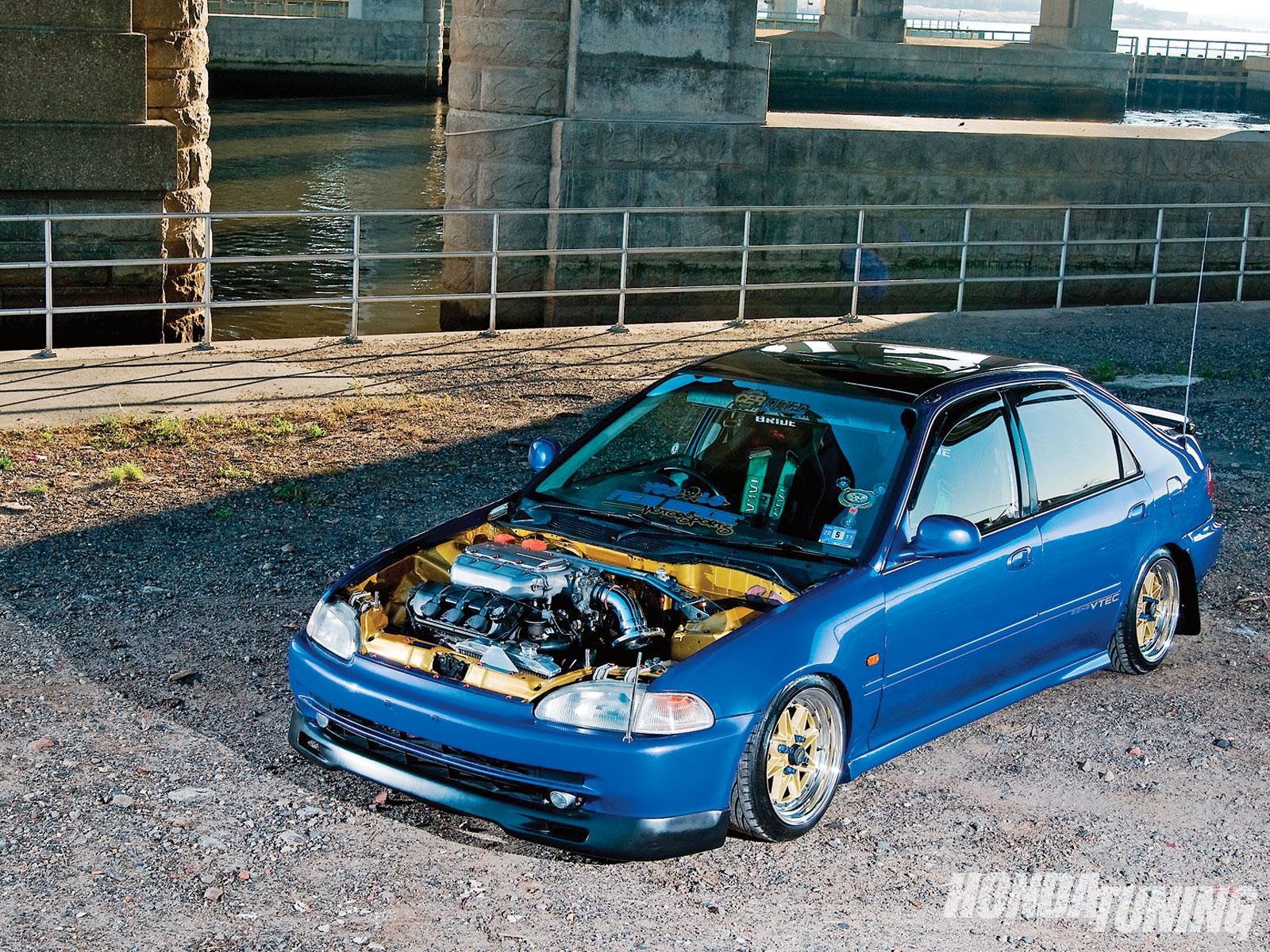 1994 Honda Civic Sedan Franklin Perez Honda Tuning Magazine