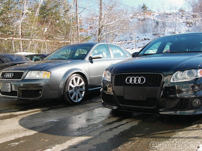 2007 Audi RS4, 2004 VW R32, And A 1998 VW Passat - Garage Projects