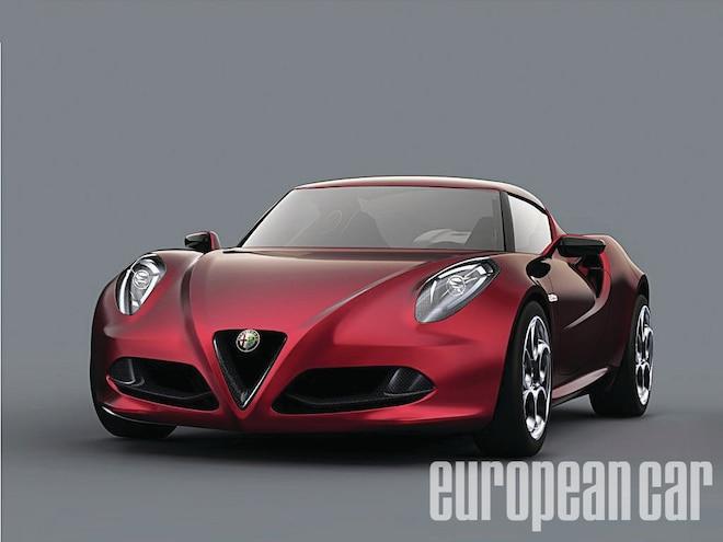 Alfa Romeo 4C - Desire, Thy Name is Alfa Romeo