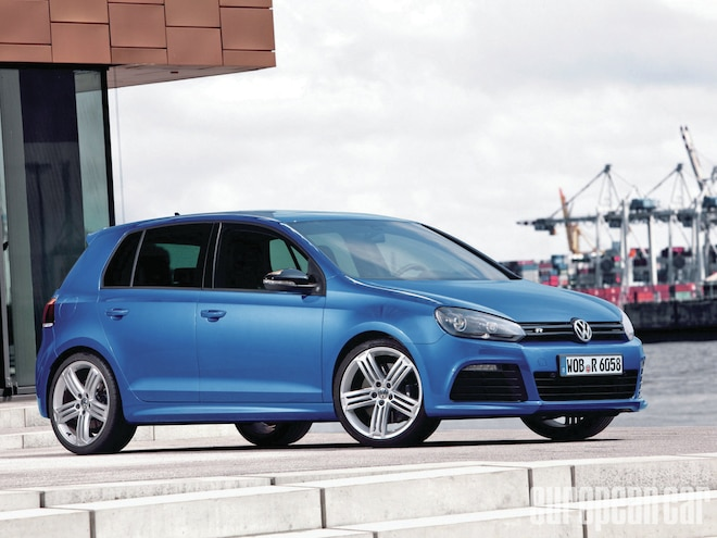 2012 Volkswagen Golf R - A lower-case R