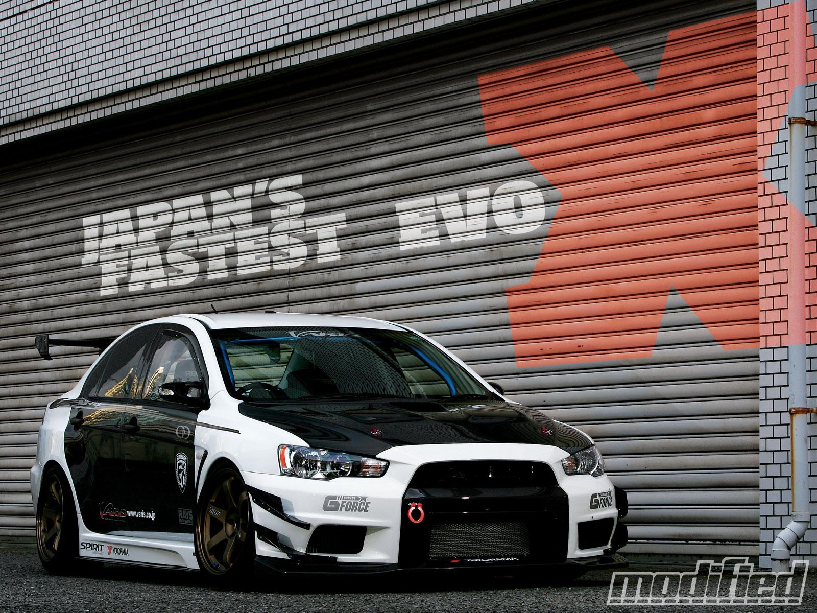 2008 Evolution X Gsr Japan S Fastest Evo Modified Magazine
