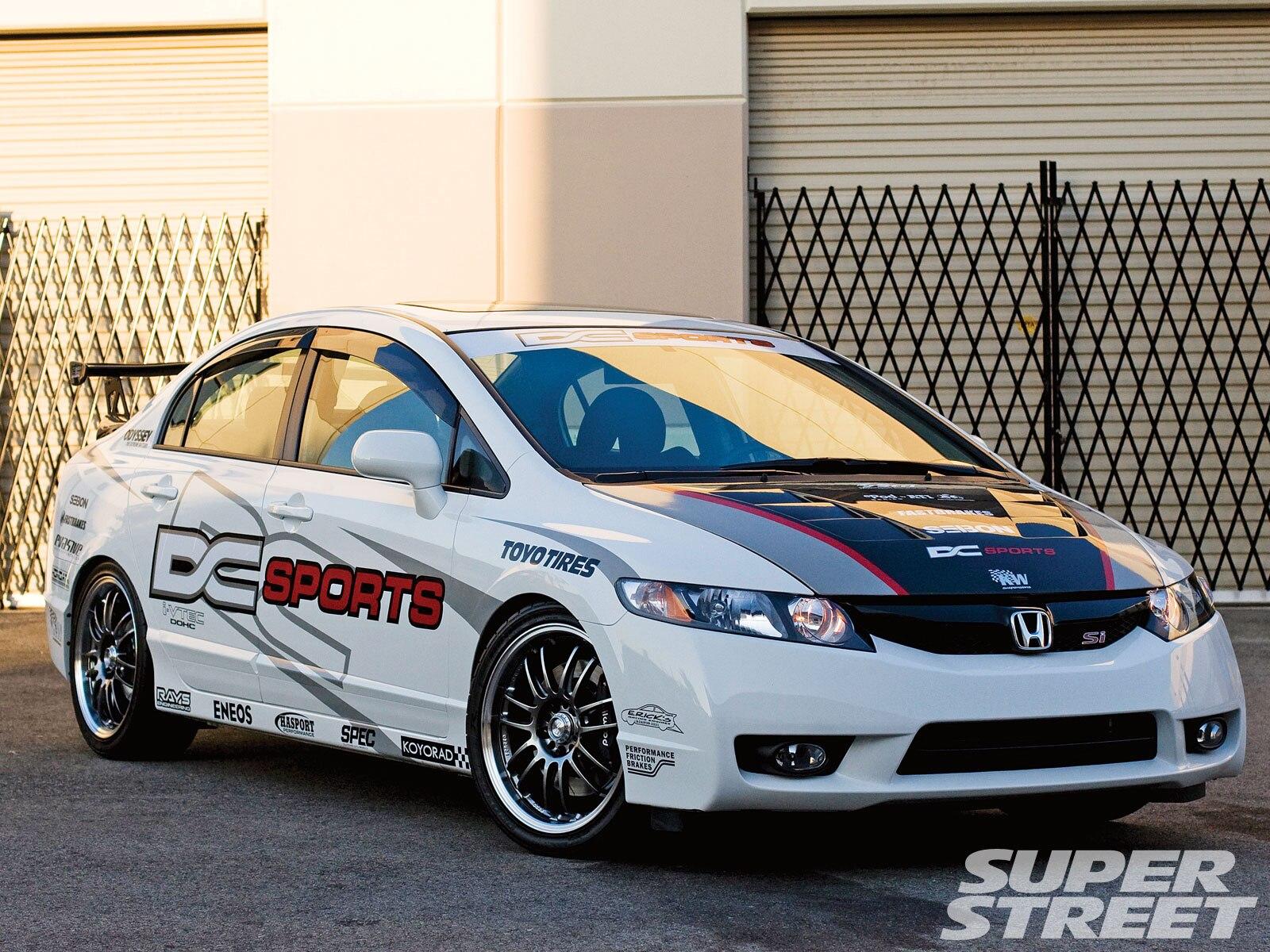 2009 Honda Civic Si Dc Sports Super Street Magazine
