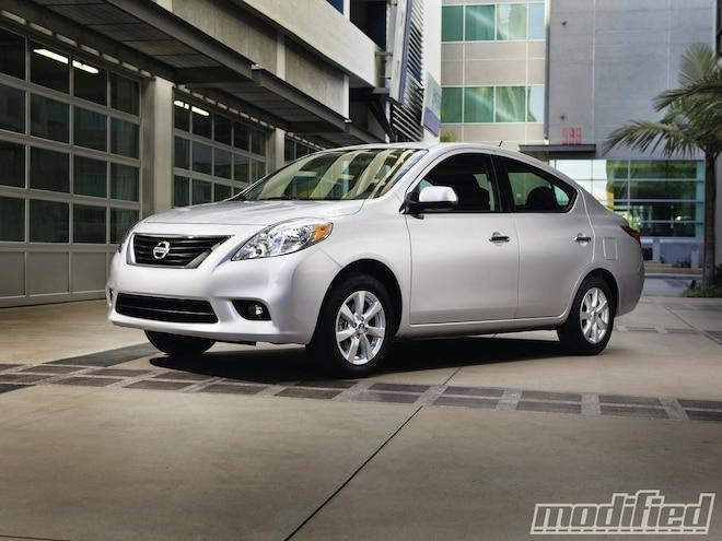 2012 Nissan Versa - Spinout