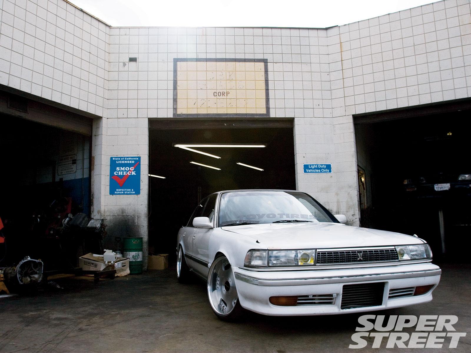 1989 toyota cressida ken gushi super street magazine 1999 Toyota Cressida