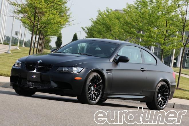 2011 BMW M3 Coupe Frozen Black Edition - Web Exclusive