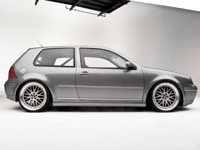 2003 Volkswagen GTI - Air-Ride Suspension: Project Silverstone