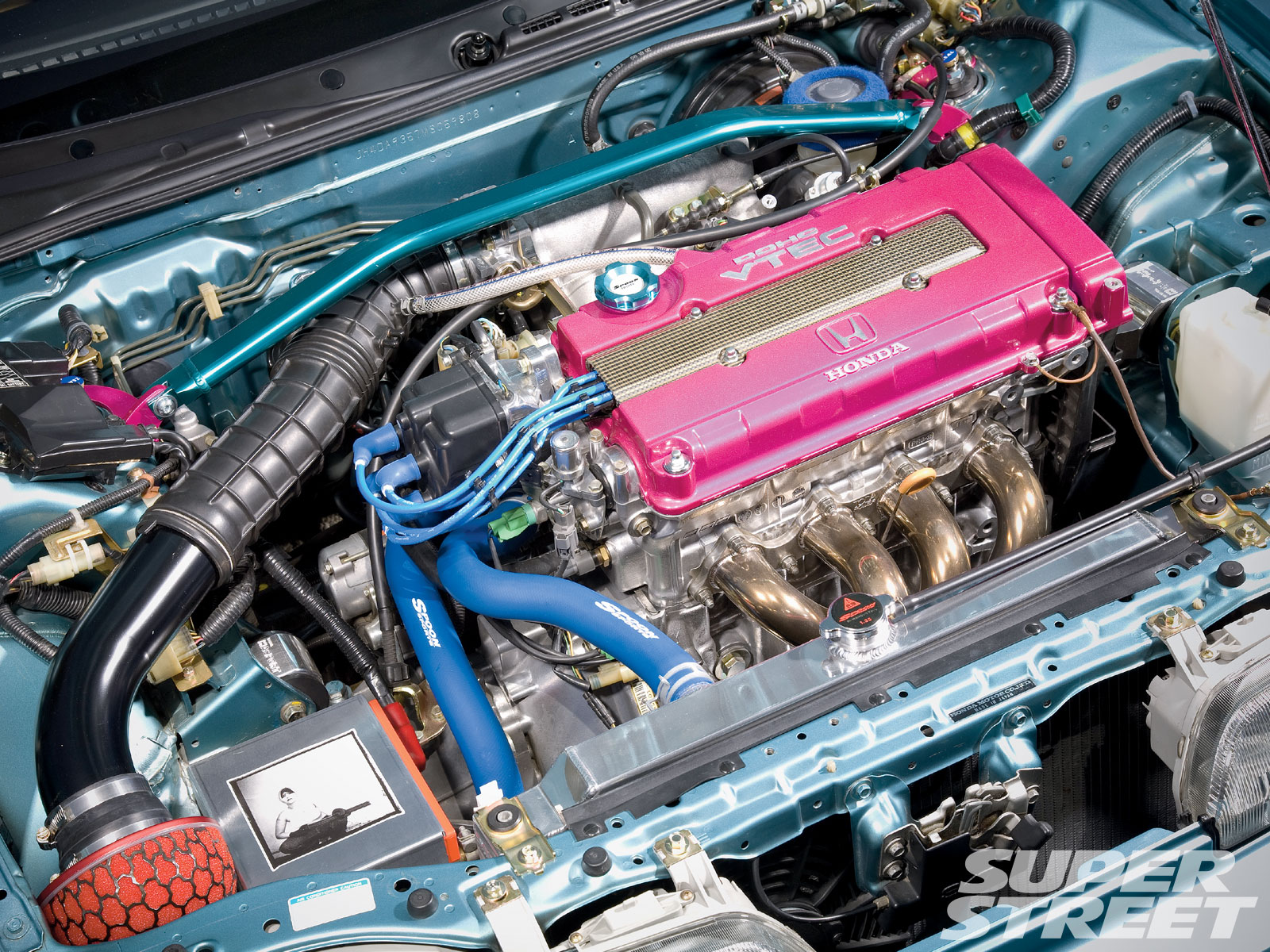 1991 Acura Integra LS - Dave Chik - Super Street Magazine on