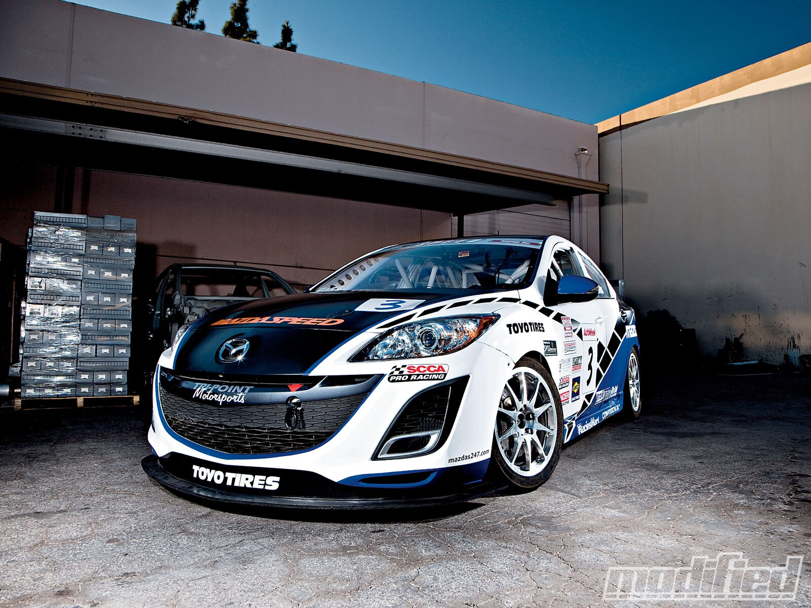 2010 Mazda 3 Tri Point Modified Magazine