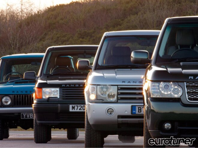Range Rover 40th Anniversary - Web Exclusive