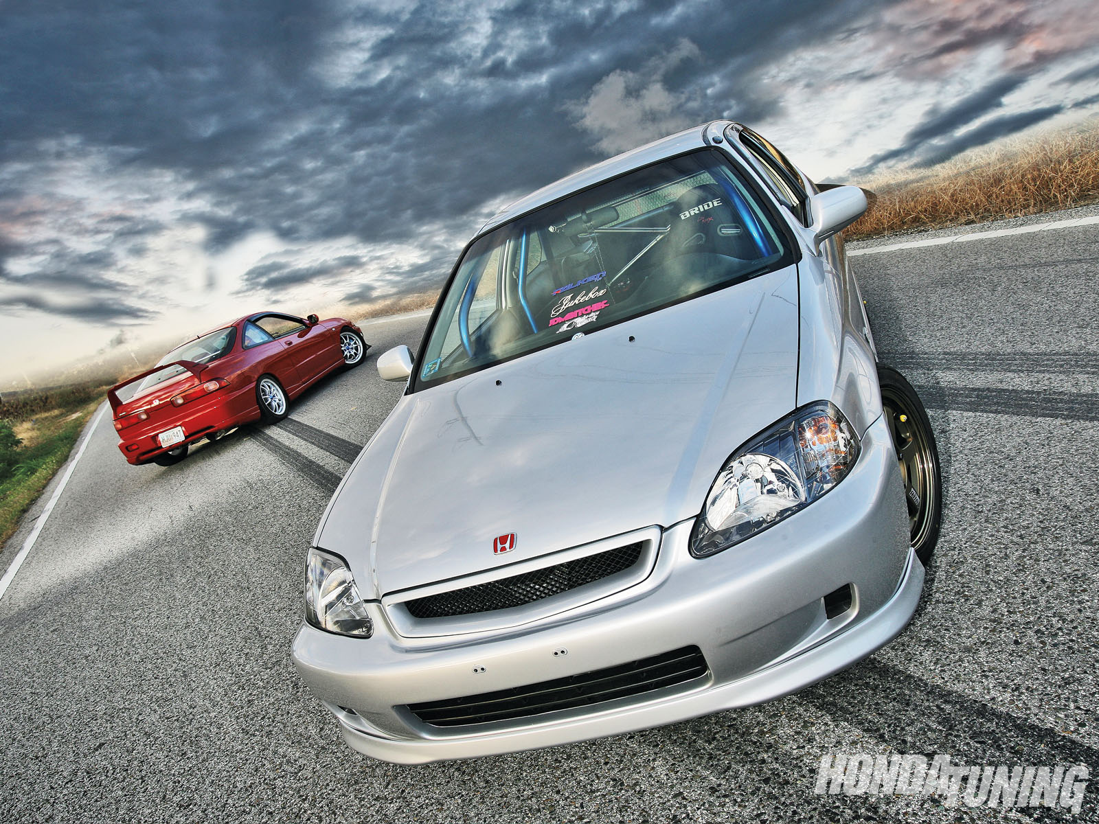 1994 Acura Integra Ls And 1998 Honda Civic Cx Covering All The Bases Honda Tuning Magazine