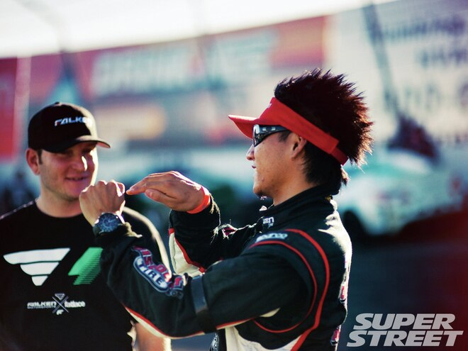 Scene: Formula D Finals: Title Fight, Irwindale Speedway—Irwindale, CA - Event