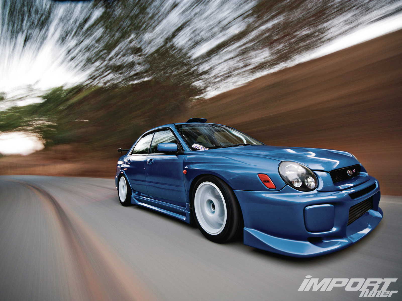 2002 Subaru Impreza Wrx Import Tuner Magazine
