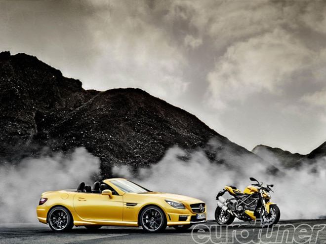 Special Mercedes SLK 55 AMG Marks Continued Ducati Cooperation - Web Exclusive