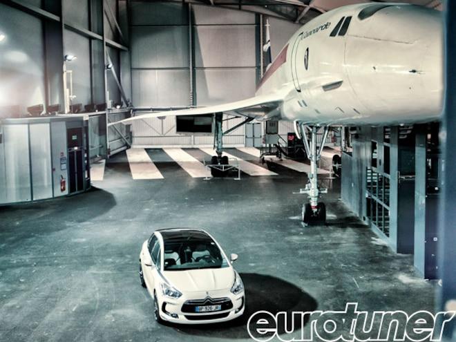 Citroen DS5 Meets Concorde - Web Exclusive