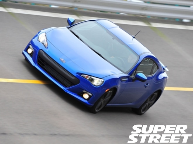 2013 Subaru BRZ Sports Car Makes U.S. Debut at North American International Auto Show