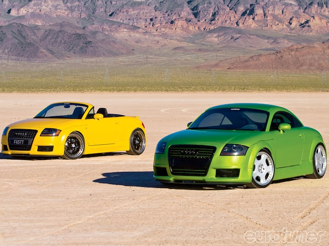 2001 and 2002 Audi TT Quattro - Lemon & Lime - Eurotuner Magazine