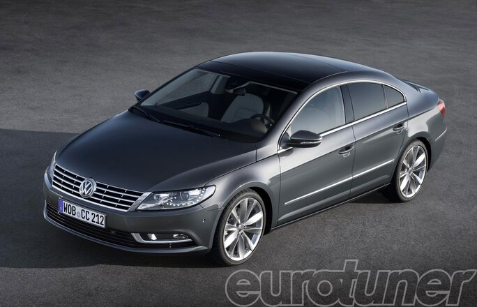 New VW CC to Debut in Los Angeles - Web Exclusive