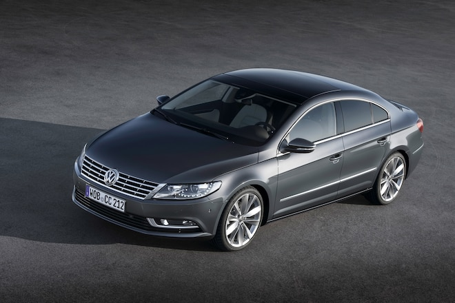Volkswagen Unveils New 2013 CC
